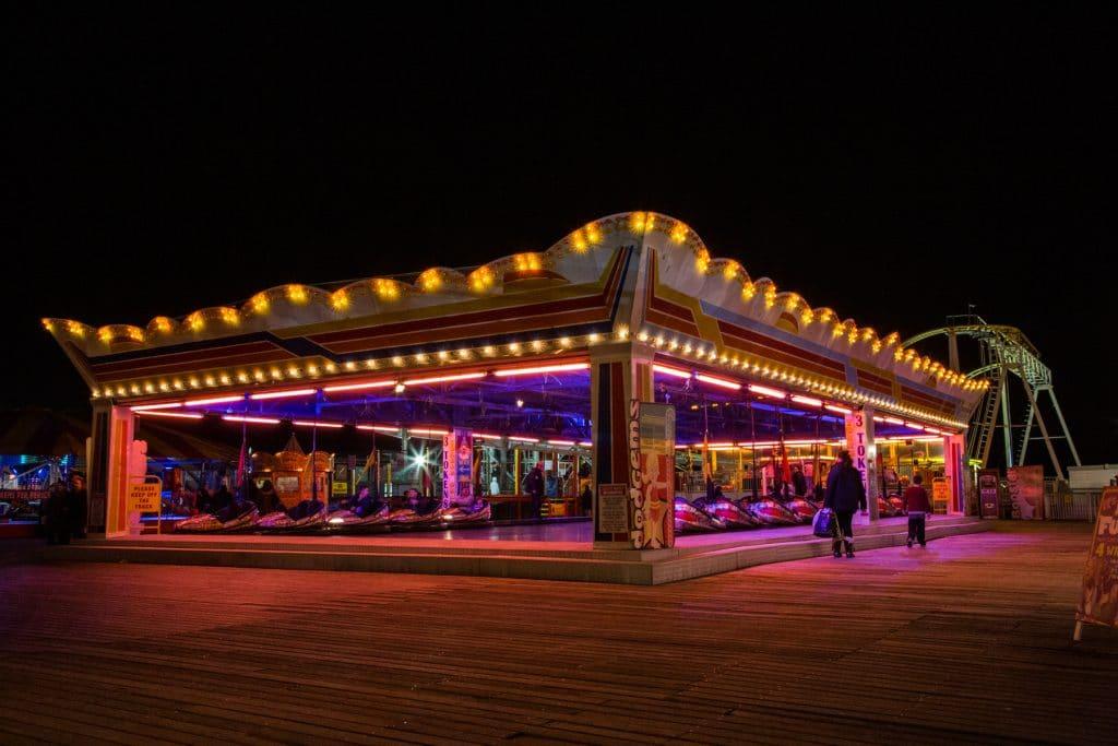 Brighton Pier Nightime
