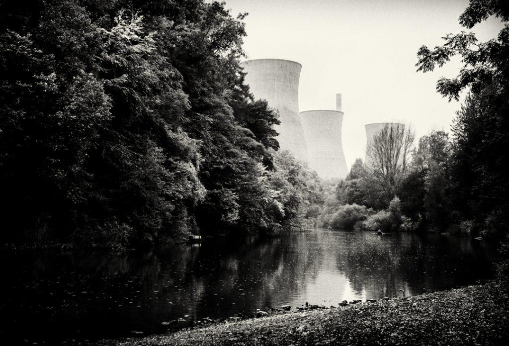 Ironbridge Power Station Chimneys