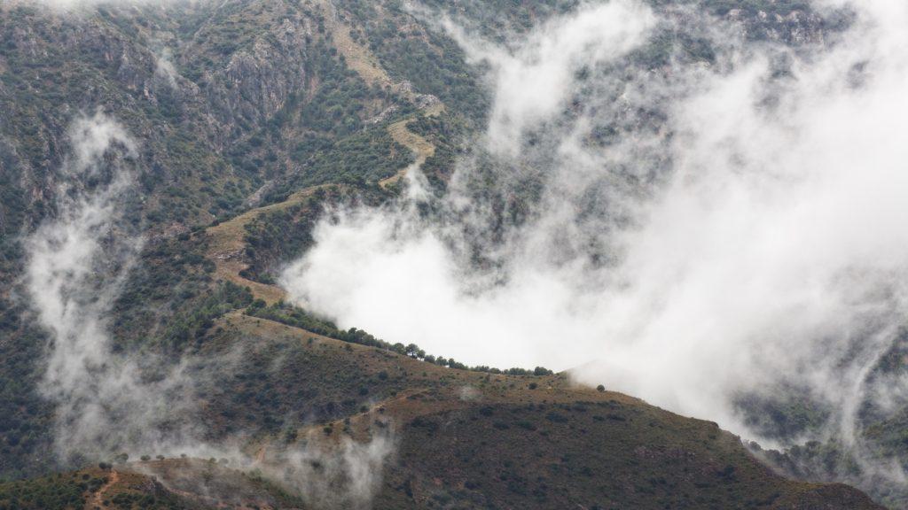 Sierra Lujar Trail to the Lead mines