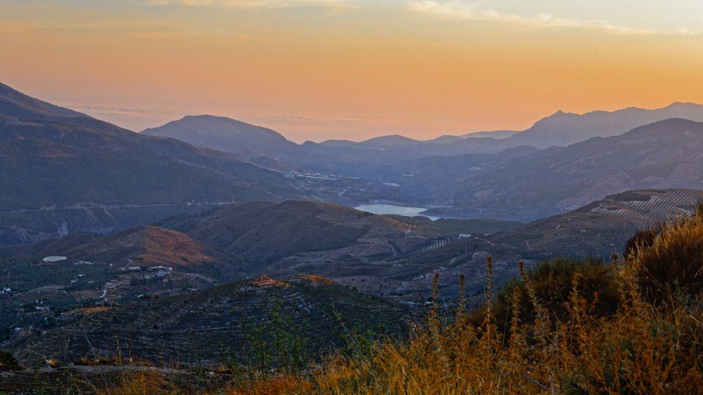 View to Velez de Benaudalla from Canar