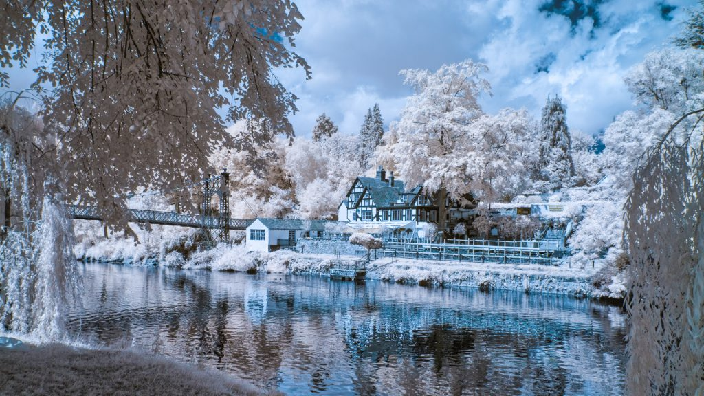 The Boathouse in Infrared