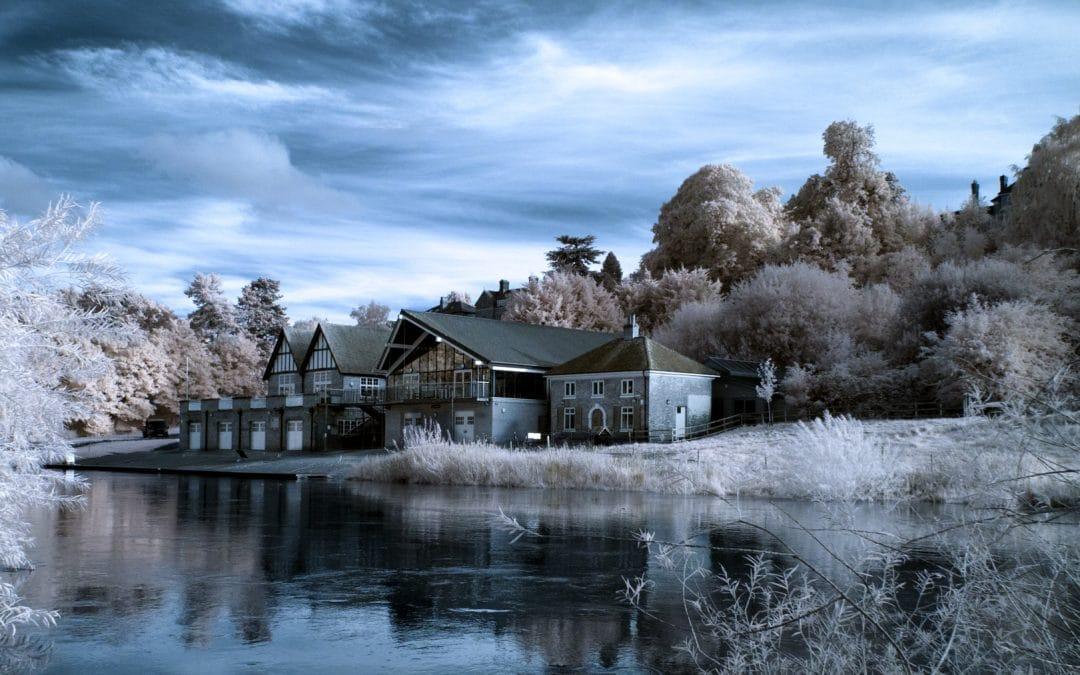 Shrewsbury in Infrared